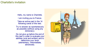 CNED french test
