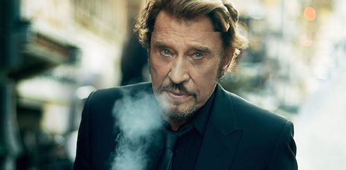 In his 56-year career, how many albums has Johnny Hallyday made?