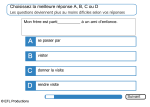 Language Level French Test